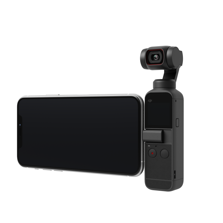 DJI Pocket 2 with phone